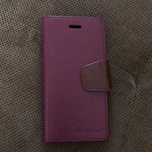 Accessories - Burgundy IPhone 6 wallet case